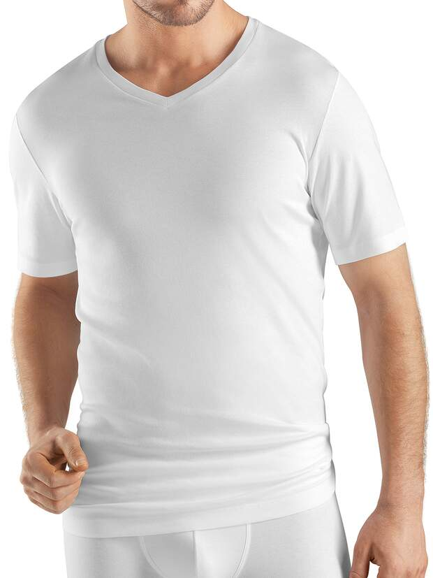 Shirt V-Neck - Sea Island Cotton