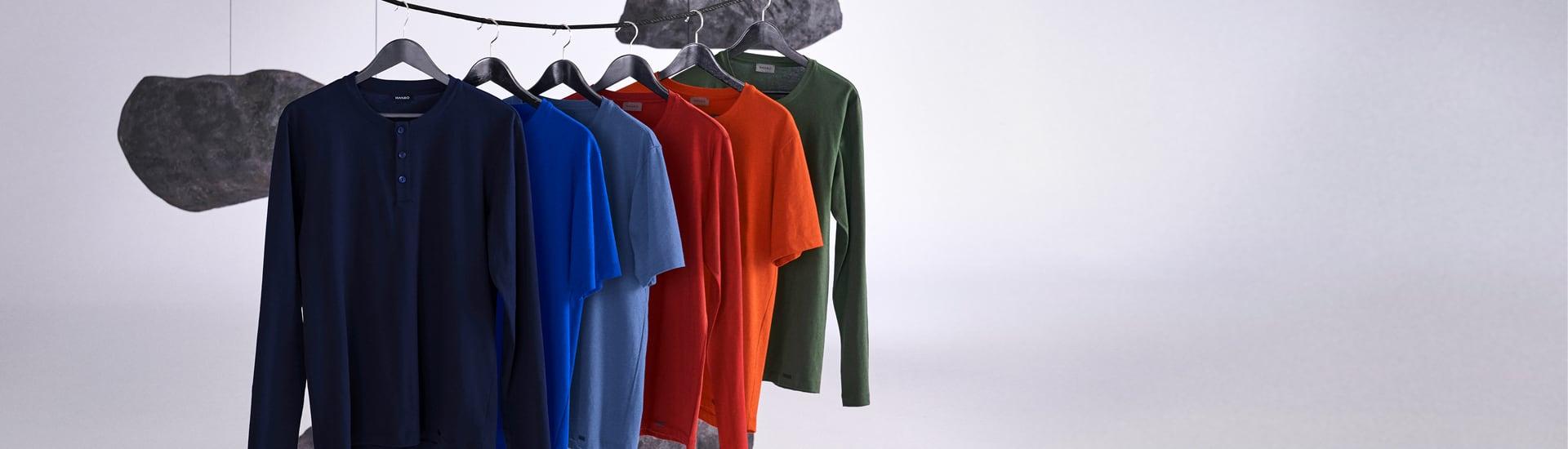 Hanro Herren Shirts Kollektion